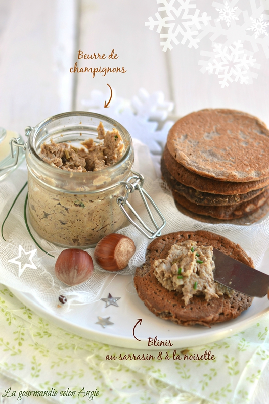 beurre-champignons-blinis-sarrasin-noisette