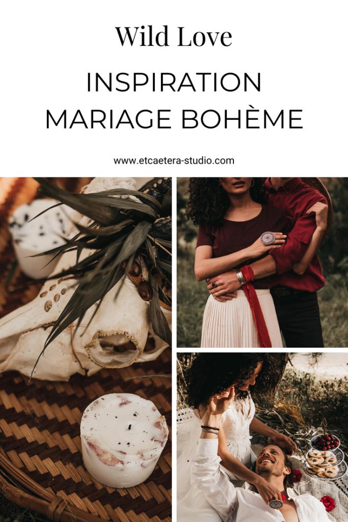 inspiration mariage boheme