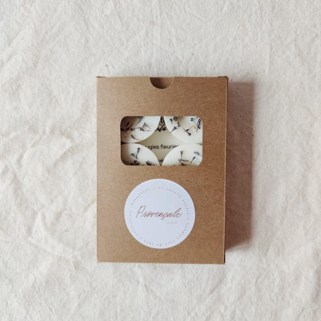 boite-kraft-lot-6-mini-bougies-provencale-fleurs-sechees-lavande-cire-soja