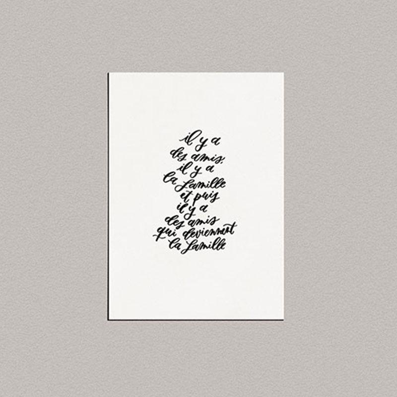 carte-calligraphie-la-famille