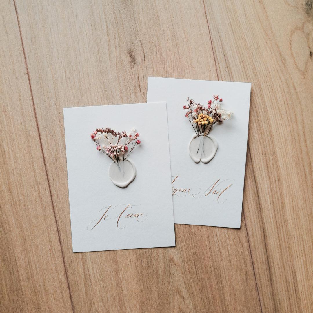 petit-mot-calligraphie-fleurs-cachet-cire-je-taime-joyexu-noel